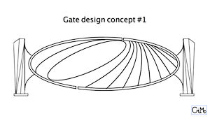 The 'Gate' design, by Gilbert McCann