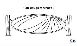 The 'Gate' design #1, by Gilbert McCann