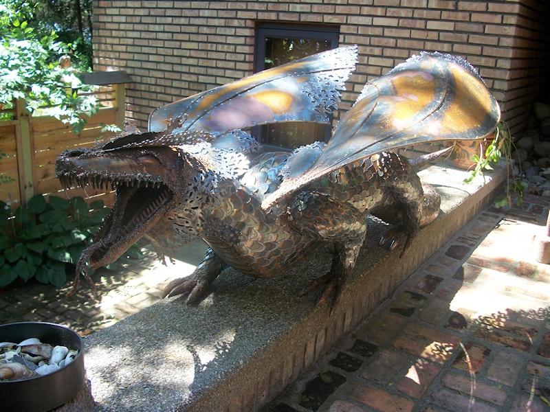Quot Ted S Dragon Quot Metal Sculpture